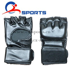 High-quality-black-PU-MMA-hand-glovesthumbnail